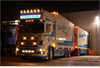 Scania Europe Flyer