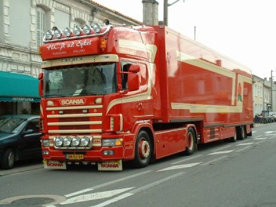 Scania Transport Fleur