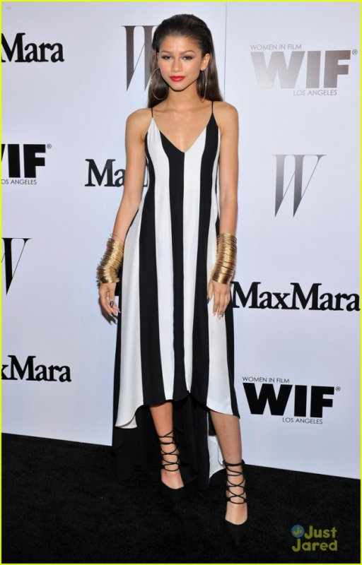 Zendaya:Top The Trendsetters at MaxMara's Women in Film Cocktail Party