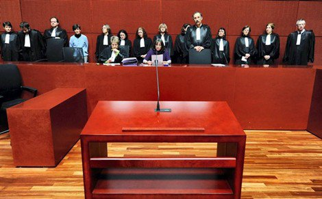 le tribunal de nantes en charges du dossier bugaled breizh en greve pour 1 semaine