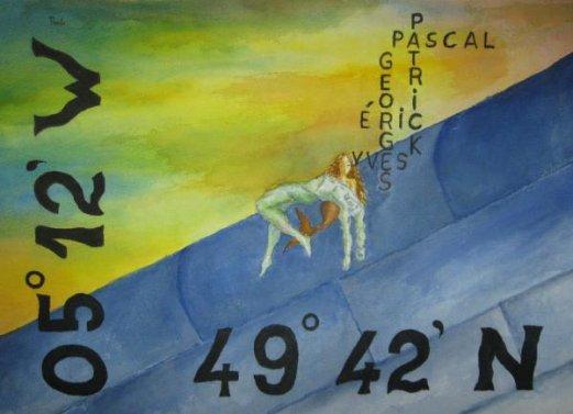 hommage au 5 marins du bugaled breizh de paulo barrosa