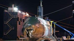 La marine canadienne avait caché l'ampleur des dégâts subis l'été dernier par un de ses sous-marins