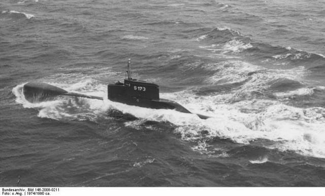 crash test : sous marin allemand U 15 et U 26