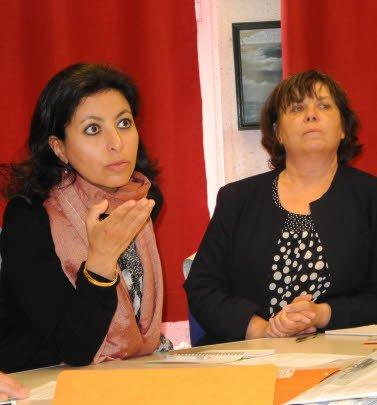 . La sénatrice Leila Aichi au Guilvinec