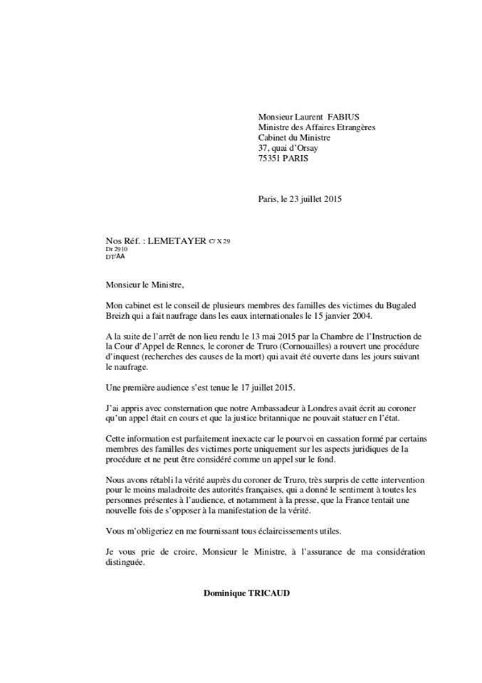 "bugaled breizh ""ambassade de france"""