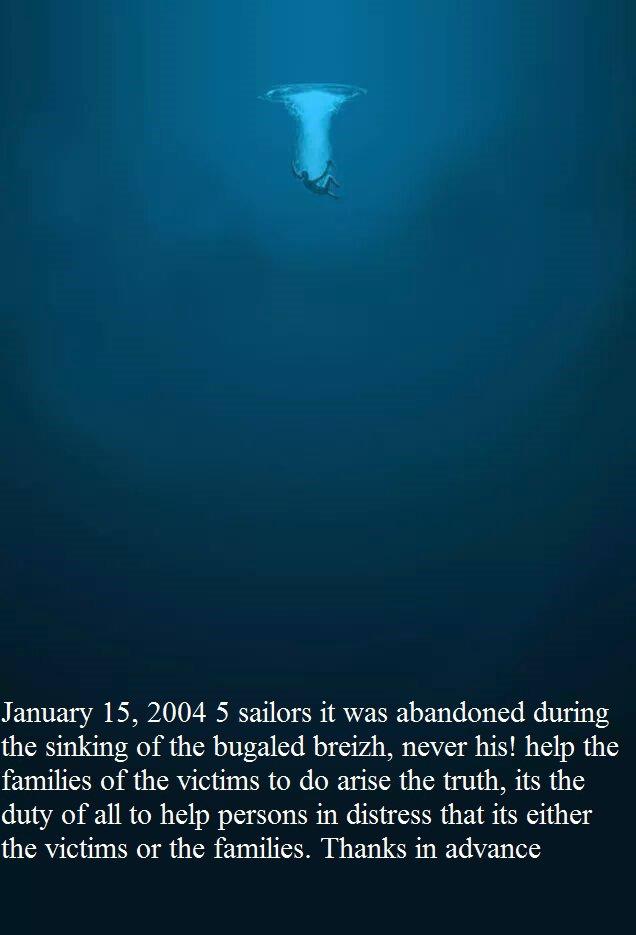 sinking mfv  bugaled breizh