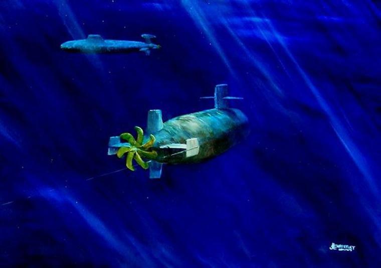"""""""USS BATFISH (SSN-681)« opération EVENING STAR """""""