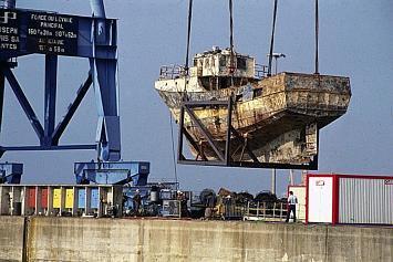 naufrage de la jonque de Concarneau et opération ATRINA, un rapport?