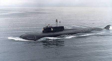 sous marin K-141 Koursk impliqué dans l accident du 2 septembre 1999?