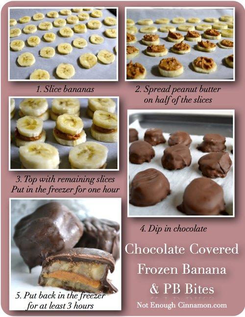 Banane Beurre de Cacahuète Chocolat