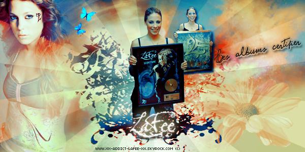 { 88 } Les albums certifier de LaFee.