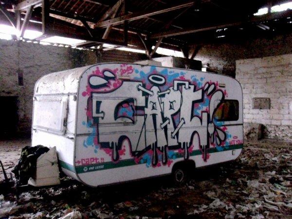 dans la caravane !!!!!