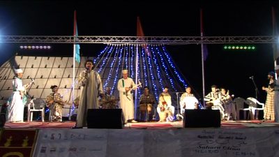 Rais Hassan Arsmouk au Festival d'Irsmouken 2010.