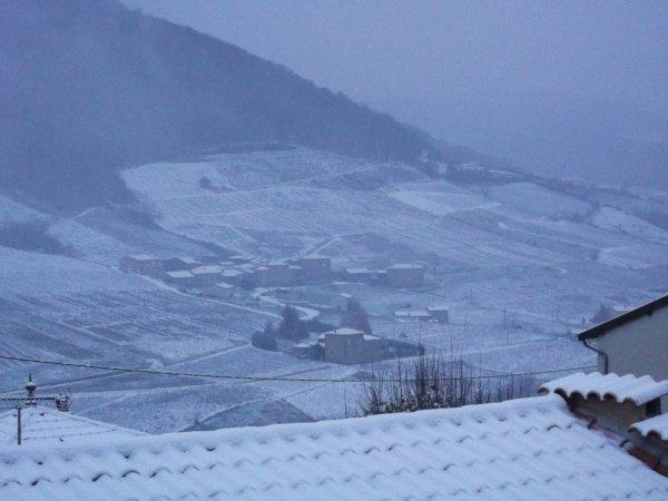 la neige du 2 decembre 2012