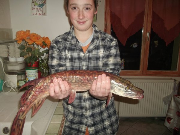 BROCHET PRIS PAR ANTHONY