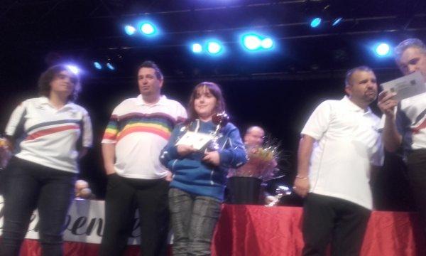 MARINE avec le champion BRUNO LEBOURSICAUD