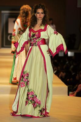Ihssan Ghailane Fleurs De Saison Morocco Models