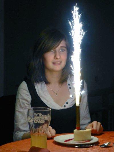 Anniversaire 20ans Camille