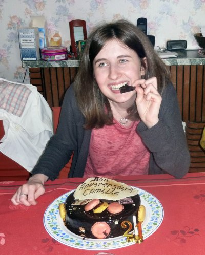 Anniversaire 21ans de ma soeur