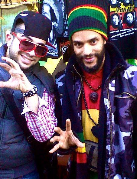Dj Strass & Blacko aka. Africaf ex membre du groupe SNIPER