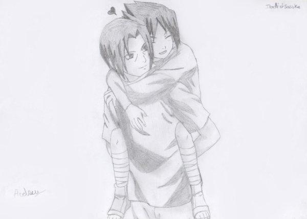 Dessin : Sasuke & Itachi.