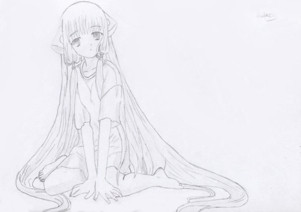 Dessin : Chobits.