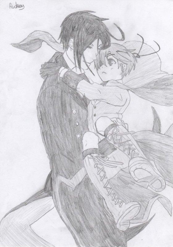 Dessin : Ciel & Sebastian.