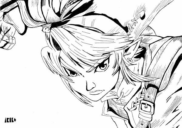 Dessin : Link.