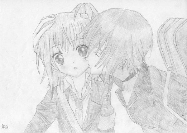 Dessin : Amu & Ikuto Kiss.