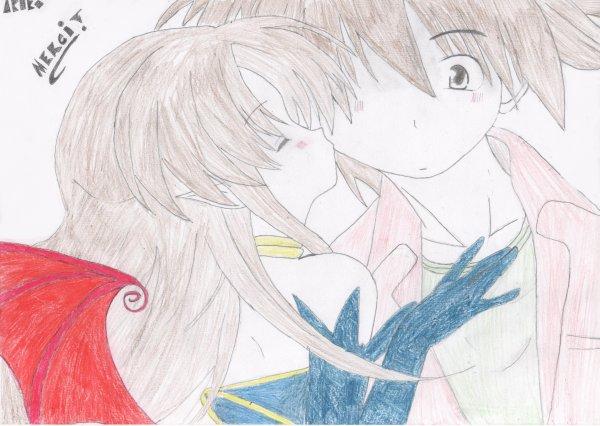 Dessin : Merci Et Kissou À Vous Les Amis !
