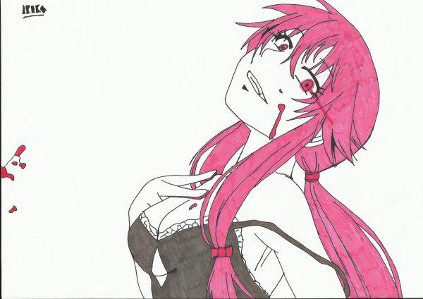Dessin : Gasai Yuno.