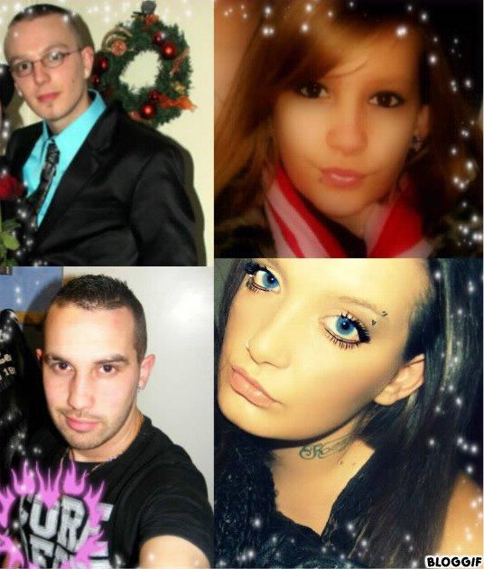 mes 4 enfants , mon bonheurs