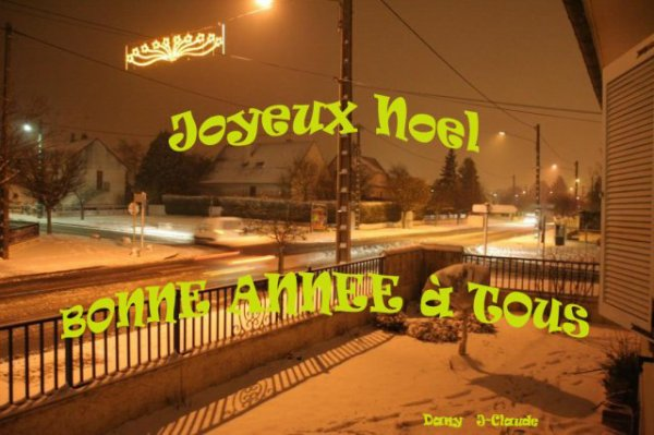 JOYEUX NOEL et BONNE ANNEE 2010