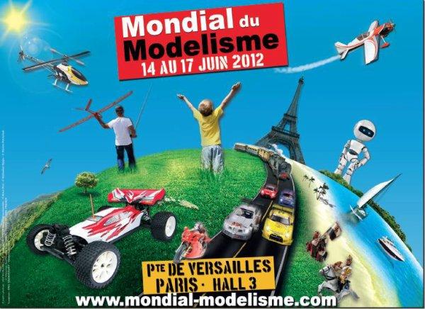 NOTRE STAND POUR LE ''MONDIAL DE LA MAQUETTE''  (Porte de Versailles)