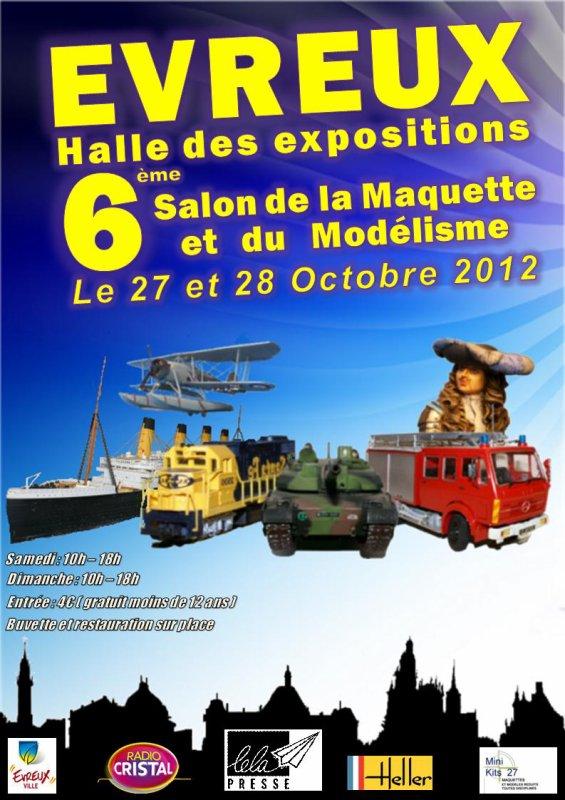 SALON  ''EVREUX 2012''  AVEC NOTRE CIRQUE ''CAROS''......