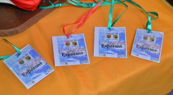 SUPERBE EXPO DE LA GACILLY........TOUS LES COPAINS AVAIENT REPONDU A L'APPEL.