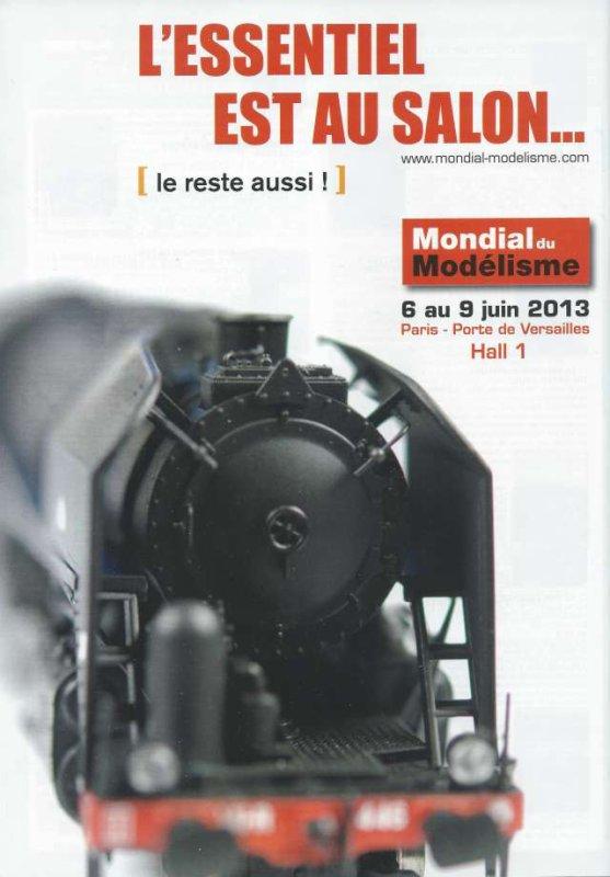 LE MONDIAL DU MODELISME 2013  (AFFICHE)