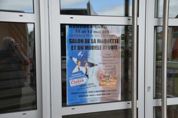 SALON de BOURBON-LANCY (71) Salon le plus important de Bourgogne du Sud) LE RIDEAU EST TOMBE DIMANCHE SOIR, DES PREVISIONS DE FREQUENTATION, LARGEMENT DEPASSEES....SUCCES TOTAL