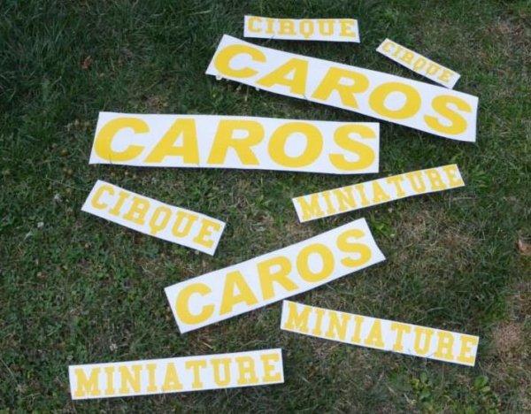 LA NOUVELLE PUB ''CAROS'' DESTINEE A LA REMORQUE.......