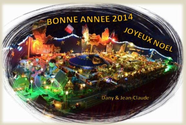 JOYEUSES FETES DE FIN D'ANNEE ET TOUS NOS VOEUX POUR 2014......