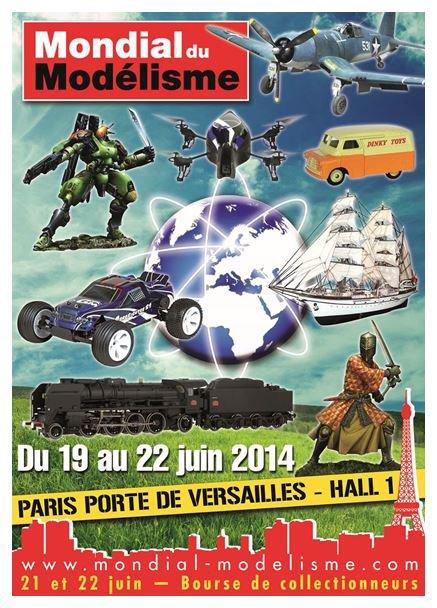NOUS SERONS  PRESENTS AVEC NOTRE CIRQUE AU MONDIAL DU MODELISME 2014 PARIS (PORTE DE VERSAILLES)