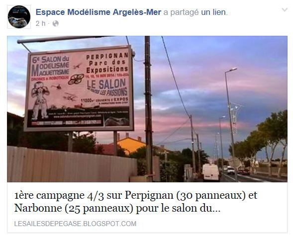 VENEZ NOMBREUX NOUS RENCONTRER A CE SALON DE PERPIGNAN 2014, LE PLUS IMPORTANT DU GRAND SUD DE FRANCE.........