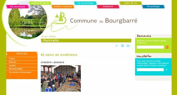 NOUS PARTICIPERONS AU SALON DE BOURGBARRE AVEC NOTRE CIRQUE....