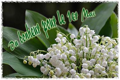 Bon 1er MAI à tous......