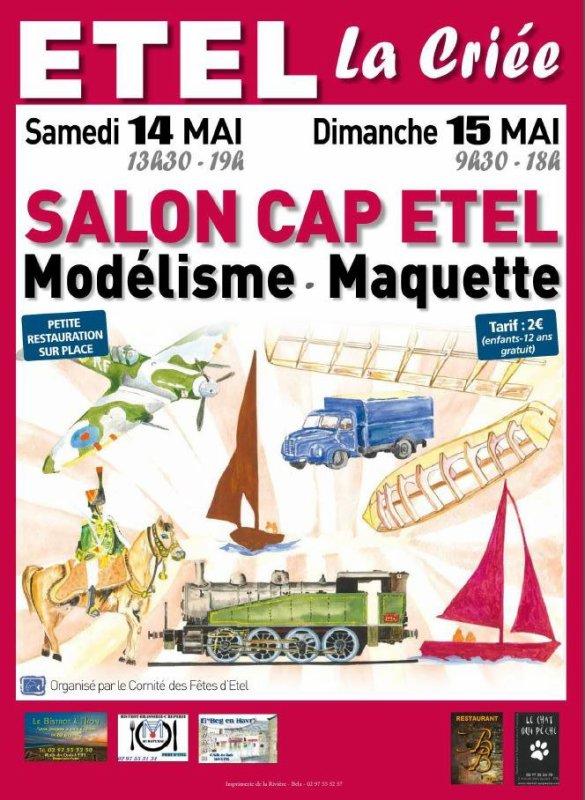 SALON DE LA MINIATURE DU CAP D'ETEL, SALON ORGANISE PAR LE COMITE DES FETES DU CAP D'ETEL (56)