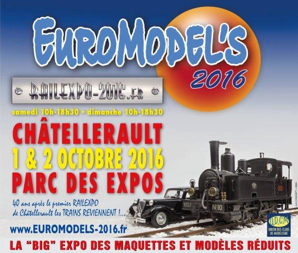 '' EUROMODEL'S  2016 '' (CHATELLERAULT 86).......