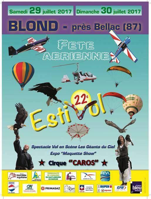 NOTRE PARTICIPATION AU MAGNIFIQUE SHOW AERIEN DE BLOND......