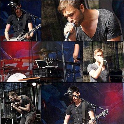 # 14 - 28 septembre 2012. Concert.   Photos du concert datant du 25.08.2012.