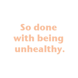 Unoriginal word : healty <3