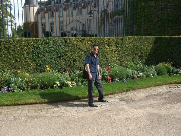Moi au château de Rambouillet''**